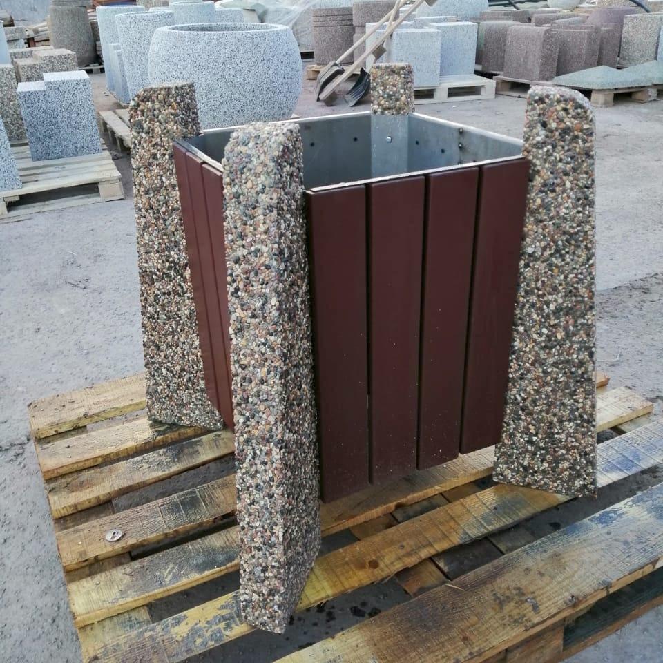 Вазон бетонный уличный Нест 80