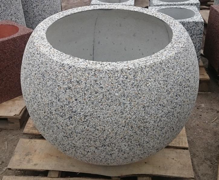 Вазон бетонный уличный Глобус