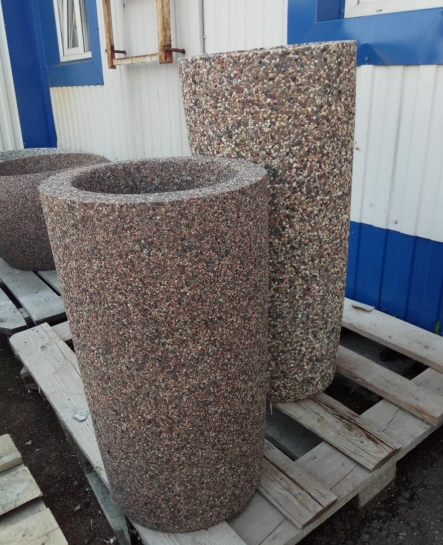 Вазон бетонный уличный Леон 70