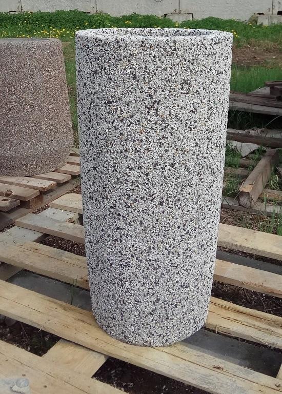 Вазон бетонный уличный Леон 80