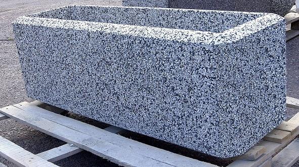 Вазон бетонный уличный Балено 1