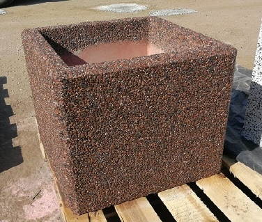 Вазон бетонный уличный Каролина 30