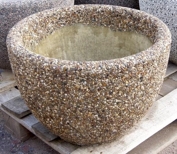 Вазон бетонный уличный Магдалена