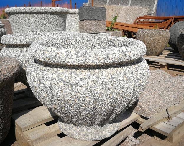 Вазон бетонный уличный Ницца