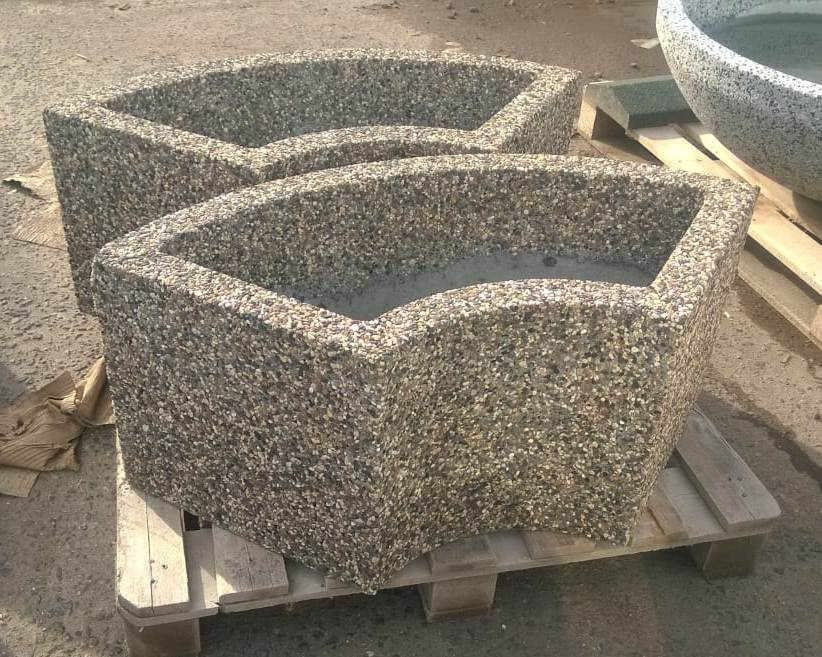 Вазон бетонный уличный Трансформер