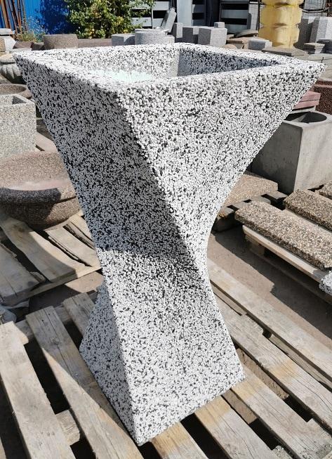 Вазон бетонный уличный Ялта