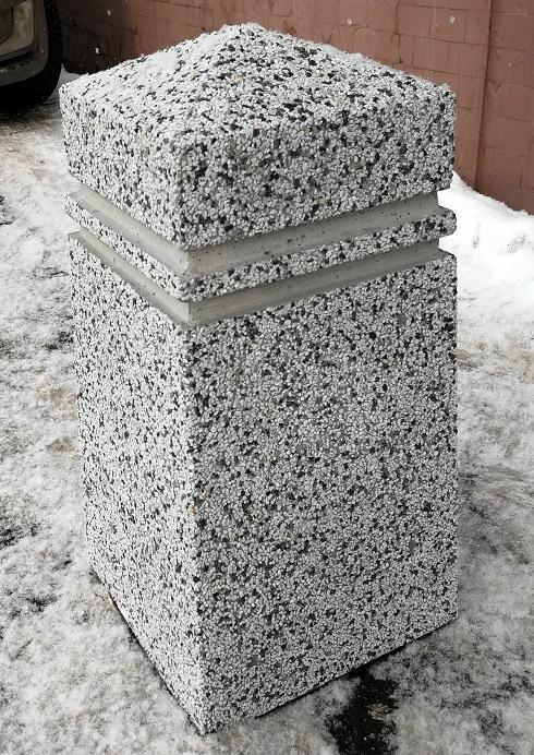 Ограждение бетонное Москва для парковки