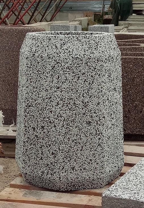 Урны бетонные уличные Варшава