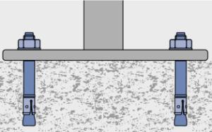 Монтаж скамей