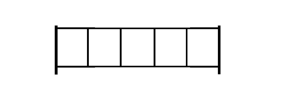 Садовое ограждение СС002