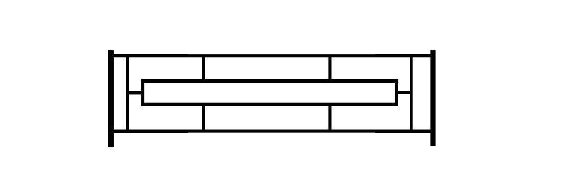 Садовое ограждение СС006