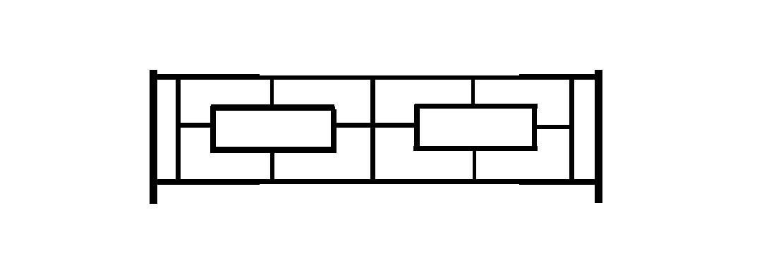 Садовое ограждение СС007