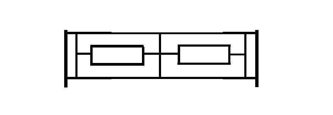 Садовое ограждение СС008