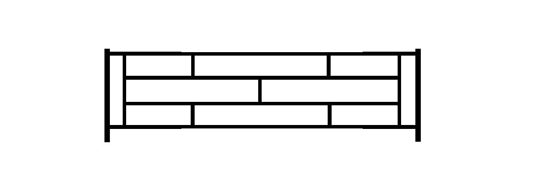 Садовое ограждение СС009