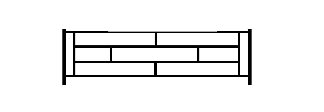 Садовое ограждение СС010