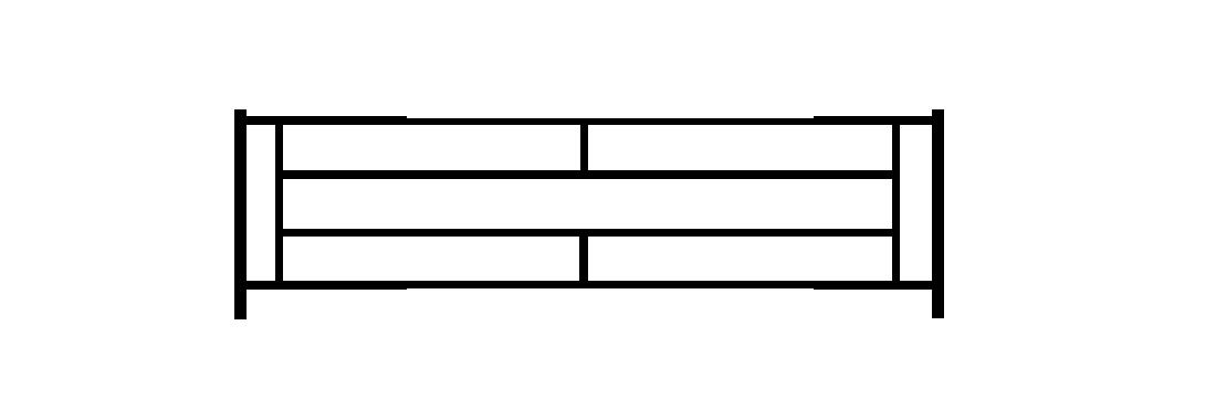 Садовое ограждение СС011