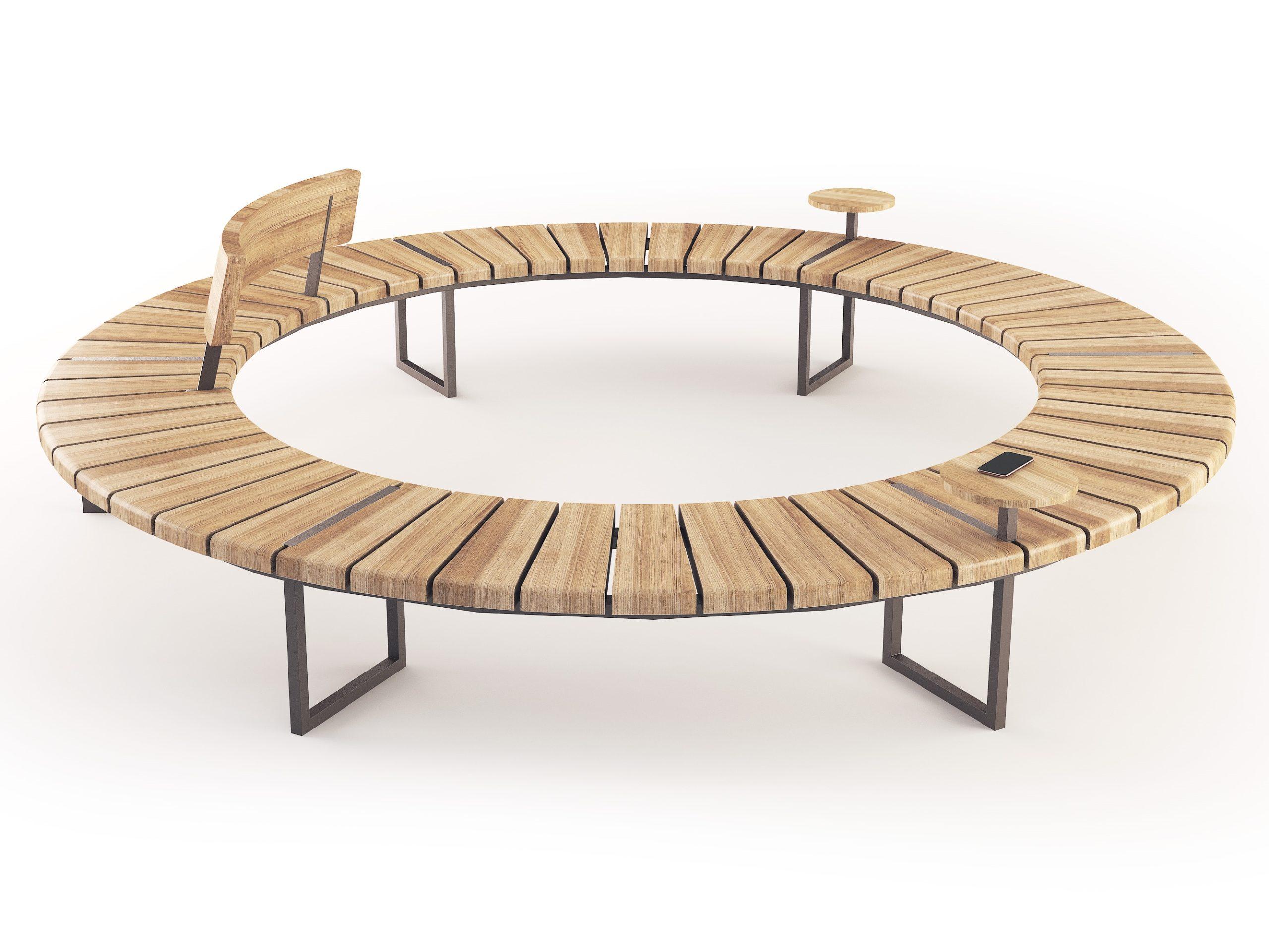 Скамейка VARIATIONS | Round Bench