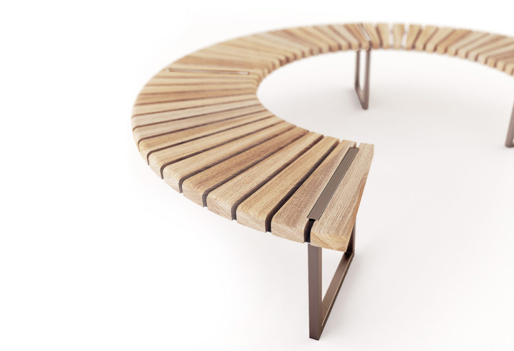 Скамейка VARIATIONS | Curved Bench