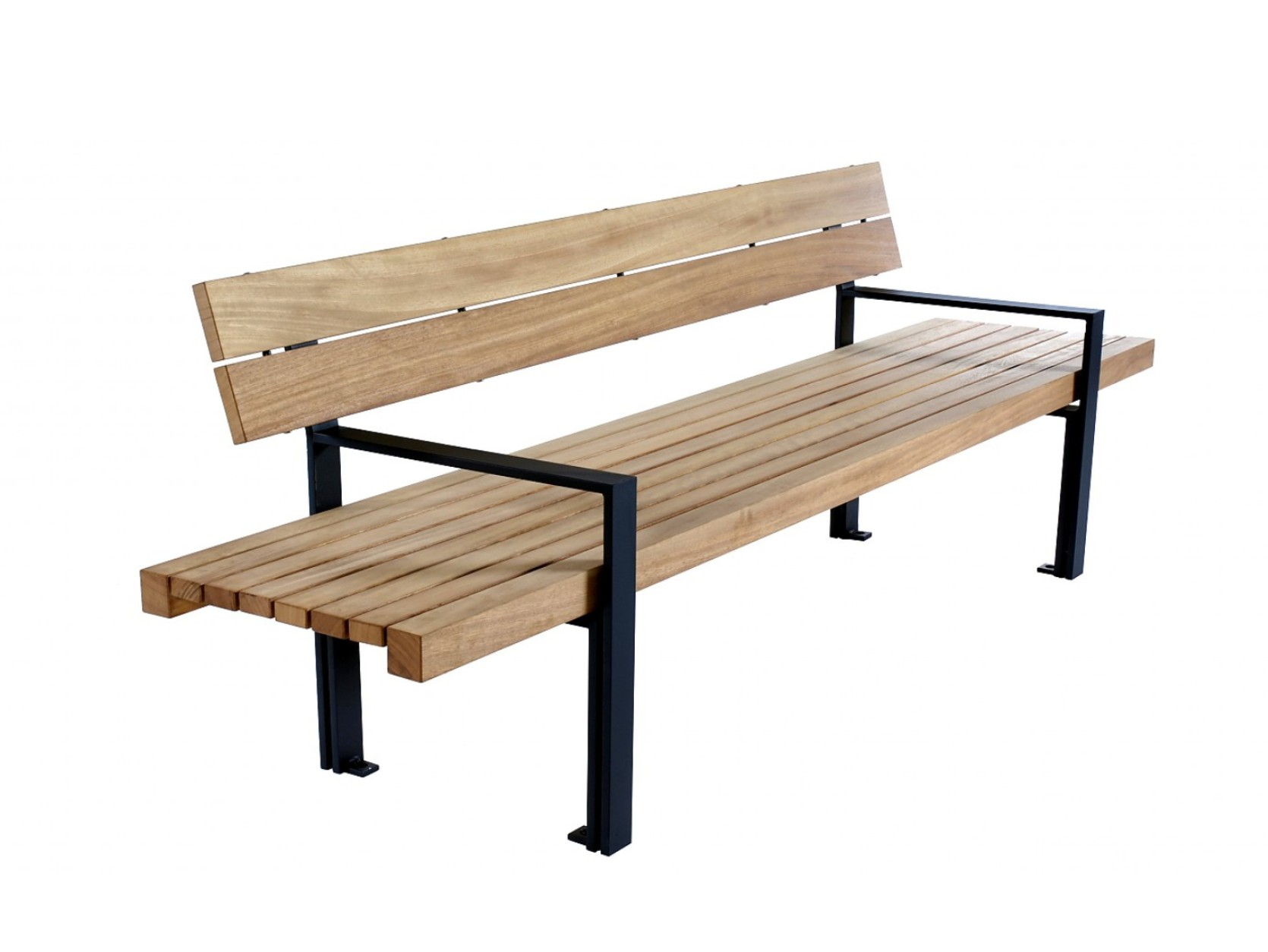 Скамейка LINEASEDUTA | Bench with armrests