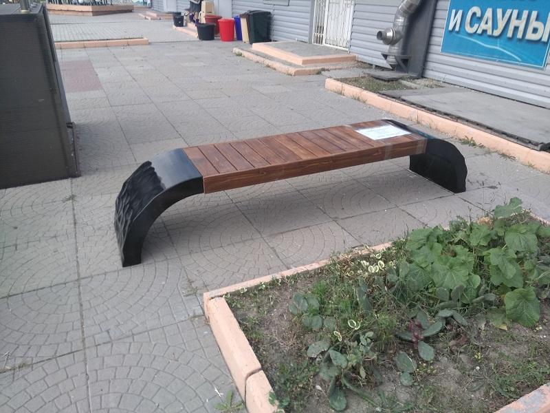 Скамейка из бетона купить