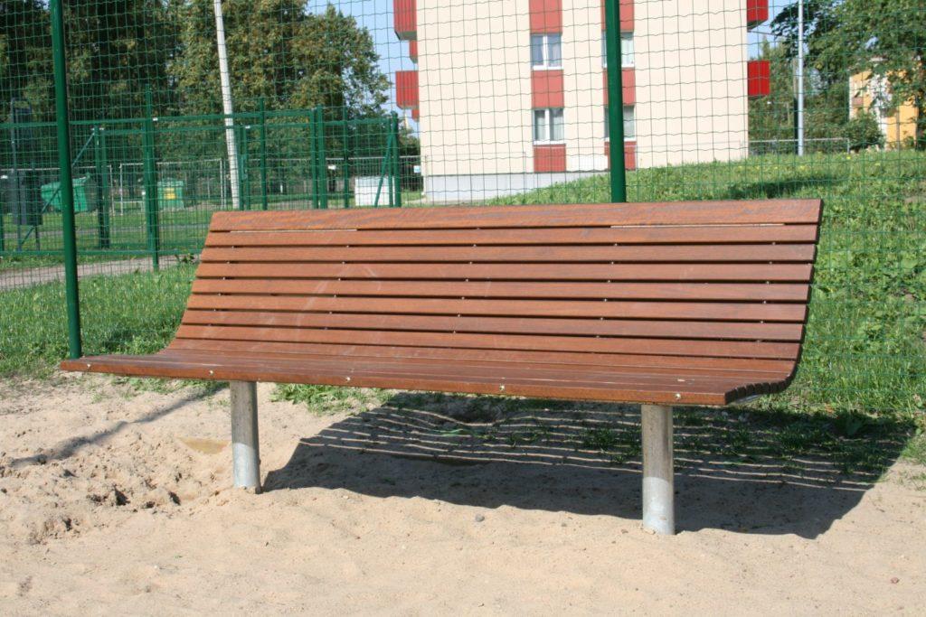 Скамейка STILO | Bench with back