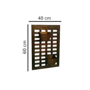 Как установить шпалерную решетку