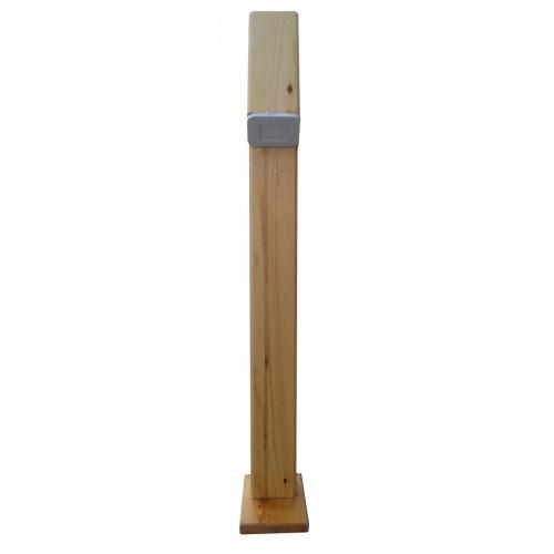 Светильник для сада деревянный под заказ