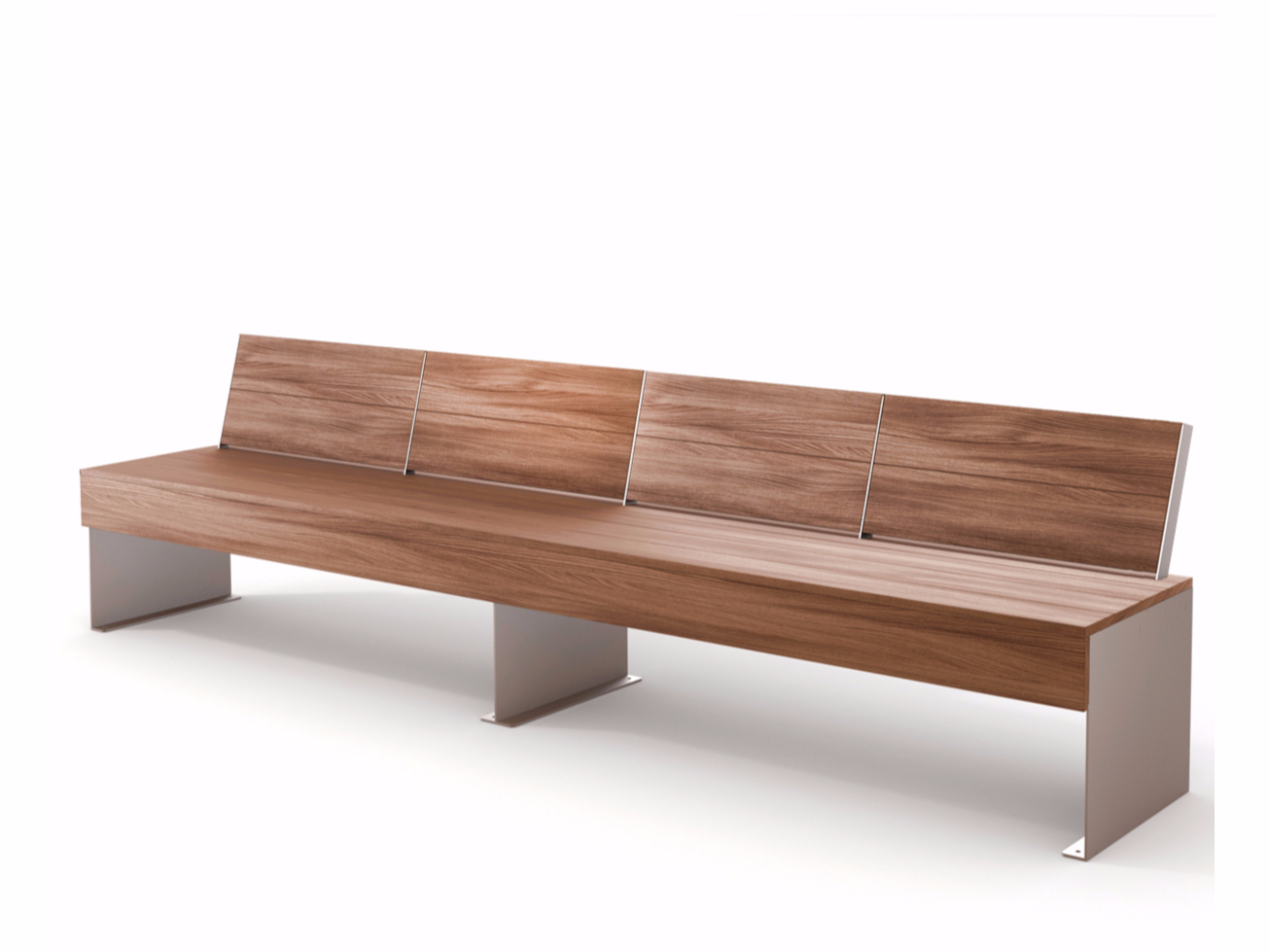 Скамейка ZEN | Bench with back