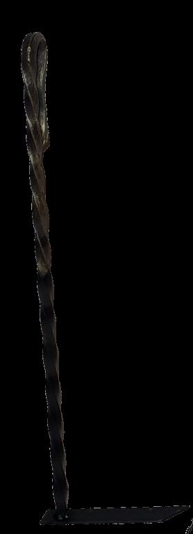 Кочерга витая 400мм.