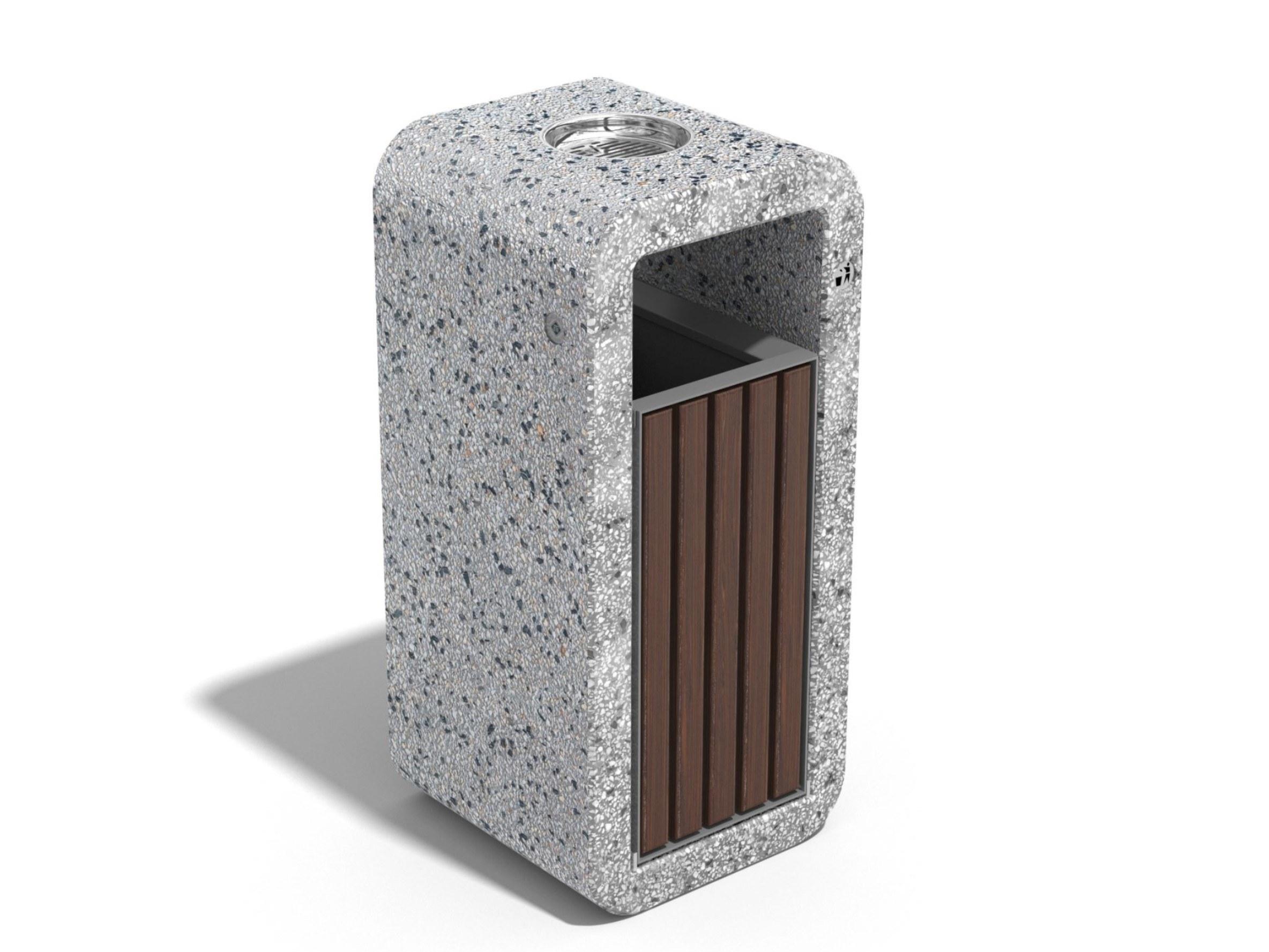 Урна 241 | Concrete litter bin