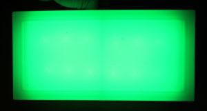 Светодионая брусчатка зеленого цвета