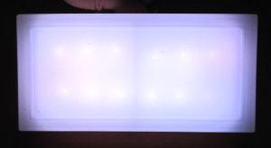 Светодионая брусчатка белого цвета