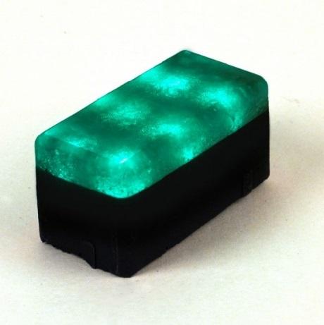 LED тротуарный камень 120х60х60