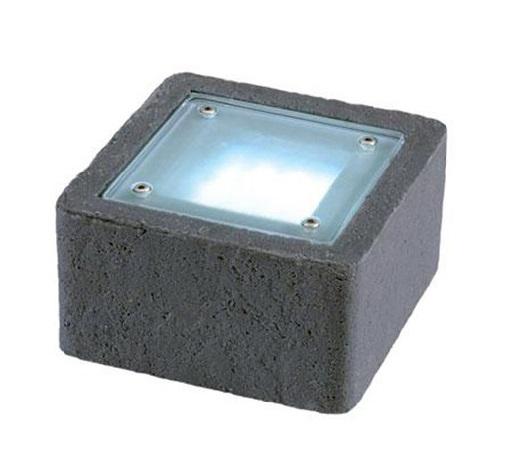 Светящийся тротуарный камень
