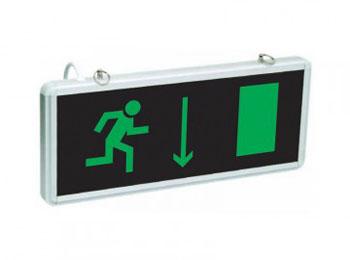«Эвакуационный выход с правой стороны»