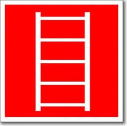 «Пожарная лестница» табличка
