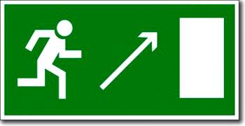 Табличка «Выход эвакуационный»