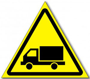 Табличка «Берегись автомобиля»