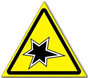 Табличка «Осторожно газоопасные работы»