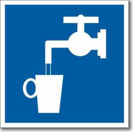 Табличка «Питьевая вода»