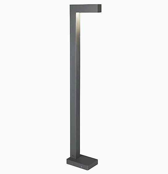Уличный светильник столб