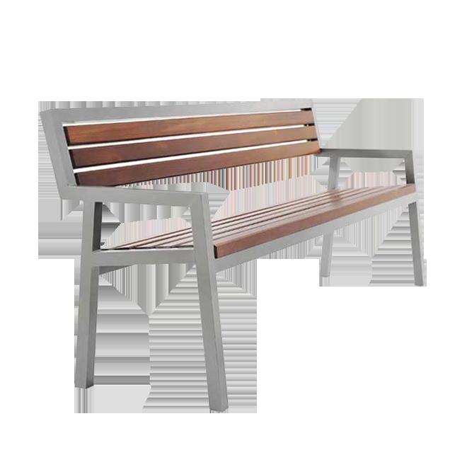 Скамейка из металлопрофиля