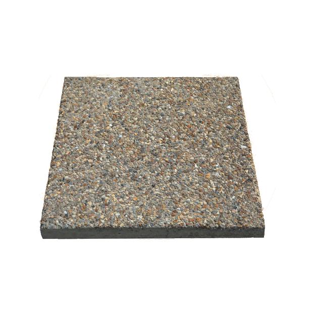 Садовая плитка из мытого бетона