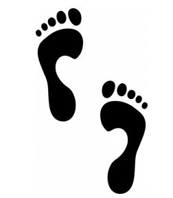 Наклейка «След»