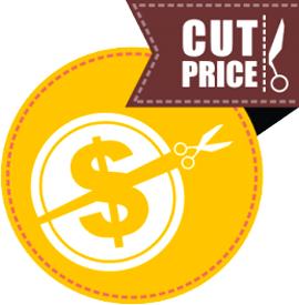 Наклейка «cut price»
