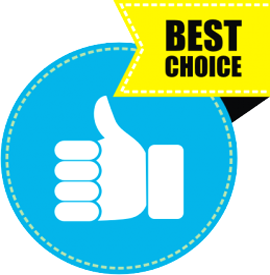 Наклейка «Best choice»