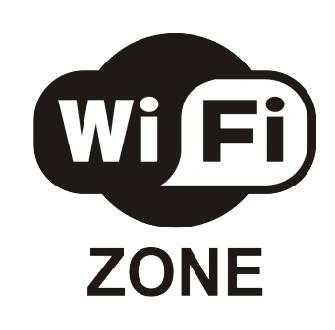 Наклейка «Wi-Fi зона»