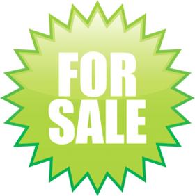 Наклейка «For sale»