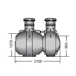 Система автономной очистки сточных вод