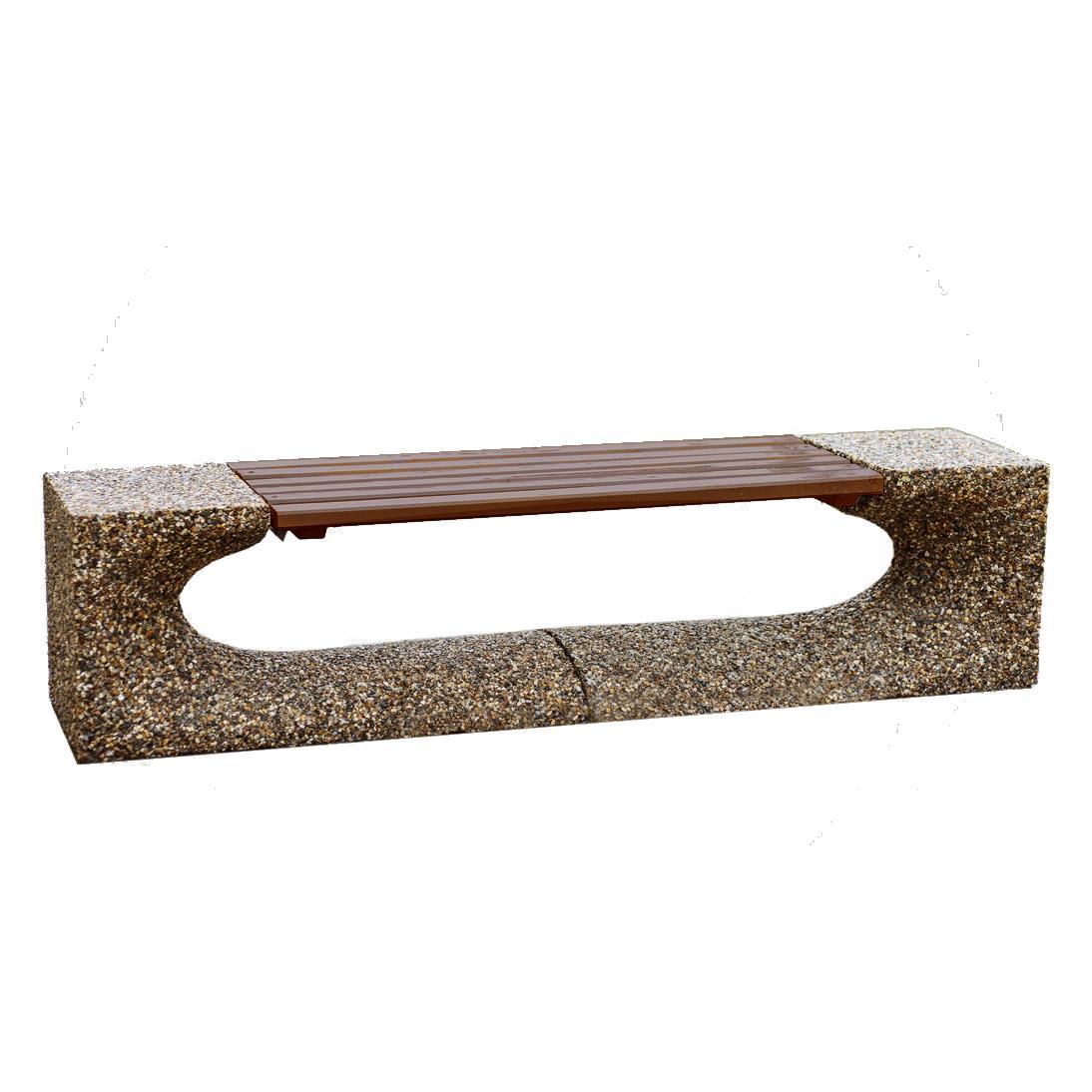 Скамейка из бетона Триумф